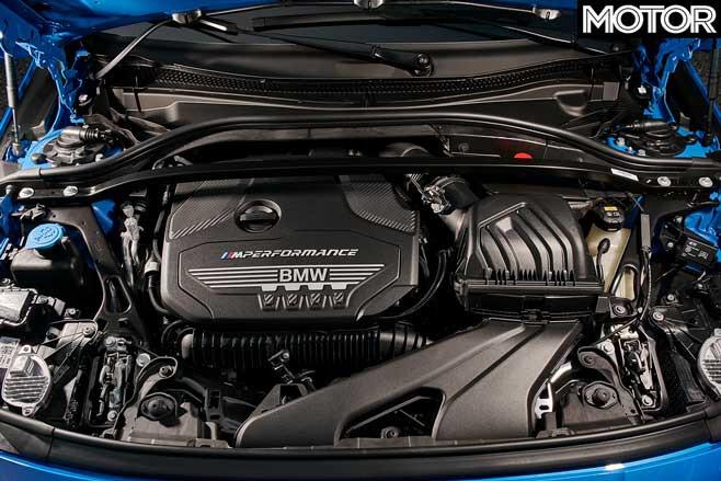2019 BMW M 135 I X Drive Engine Jpg