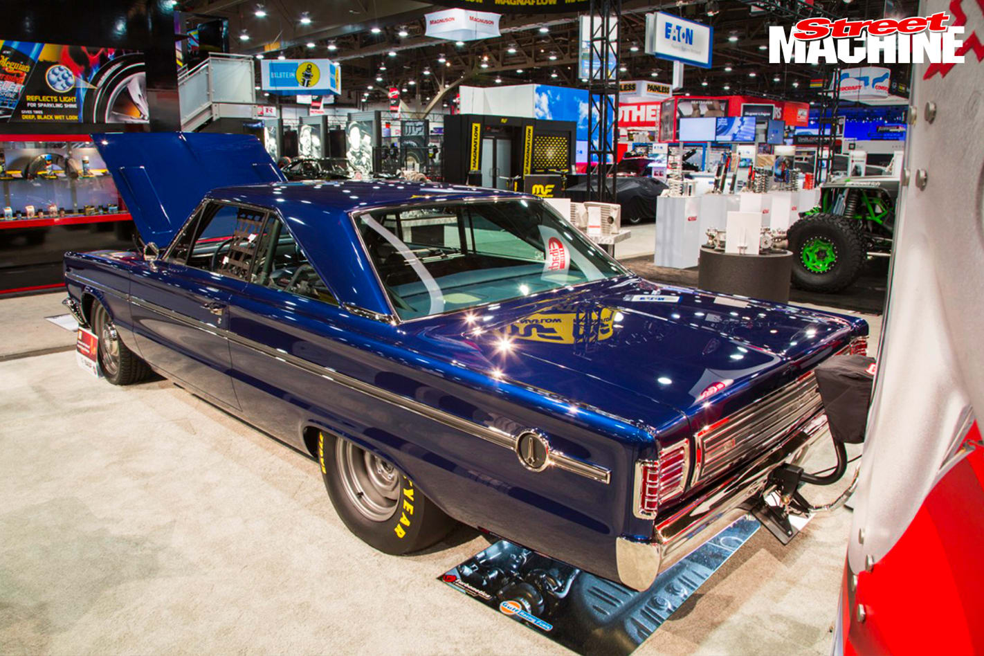 RAD RIDES BUILDS AN 180MPH TWIN-TURBO BELVEDERE rear