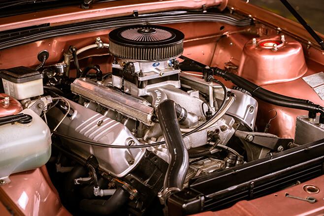 Holden VK Berlina engine bay