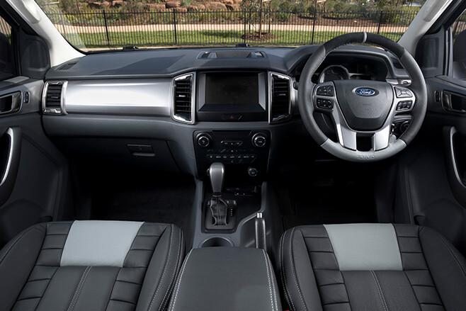Tickford Ford Ranger interior
