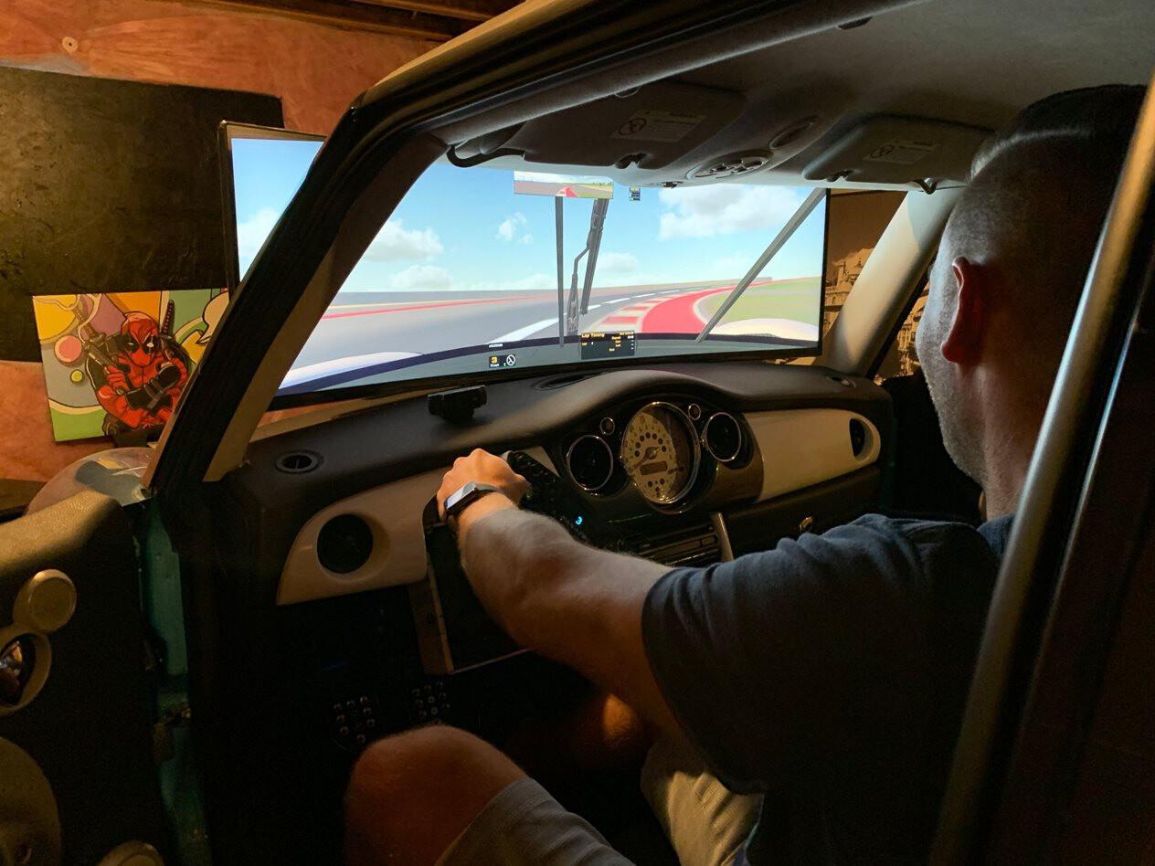 mini cooper racing simulator