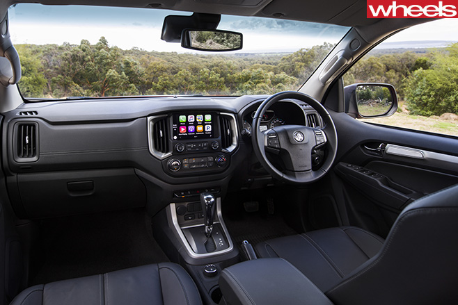 Holden -Trailblazer -seven -seat -SUV-interior