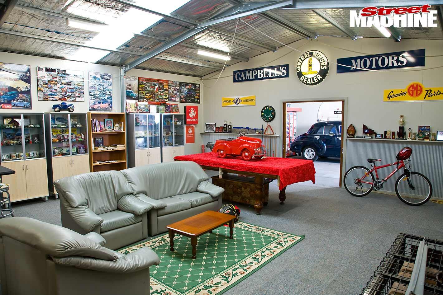 Holden shed