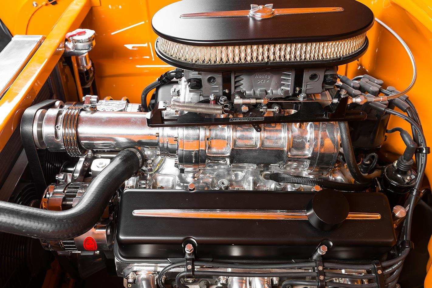 Chev Bel Air engine