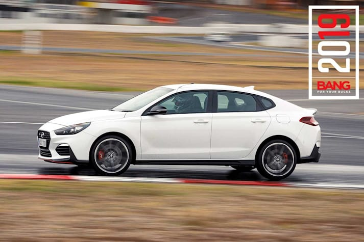 2019 Hyundai i30 Fastback N track review Bang For Your Bucks 2019