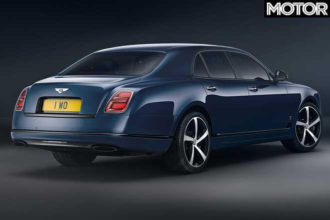 Bentley Mulsanne 6 75 Edition Rear Jpg