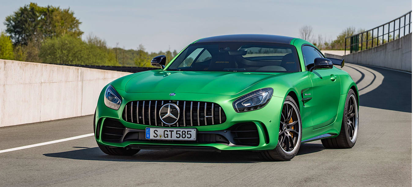 Six Mercedes-AMG GT R facts
