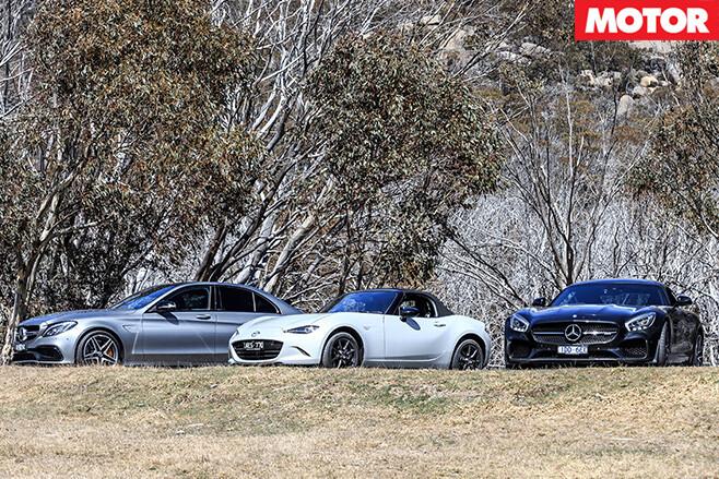 Mazda and the mercs