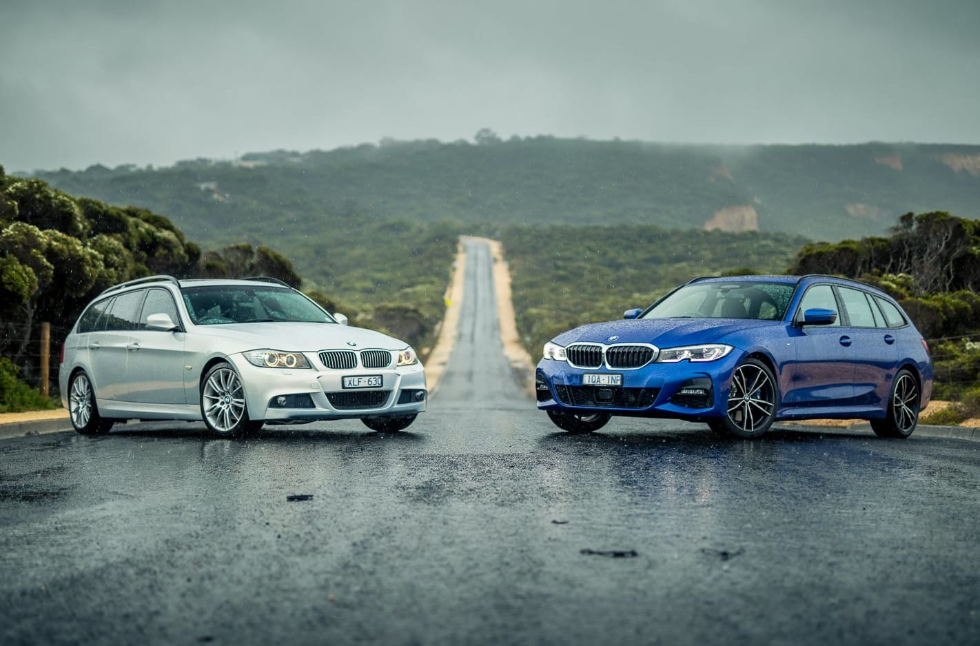 BMW 3 Series Touring Old vs New