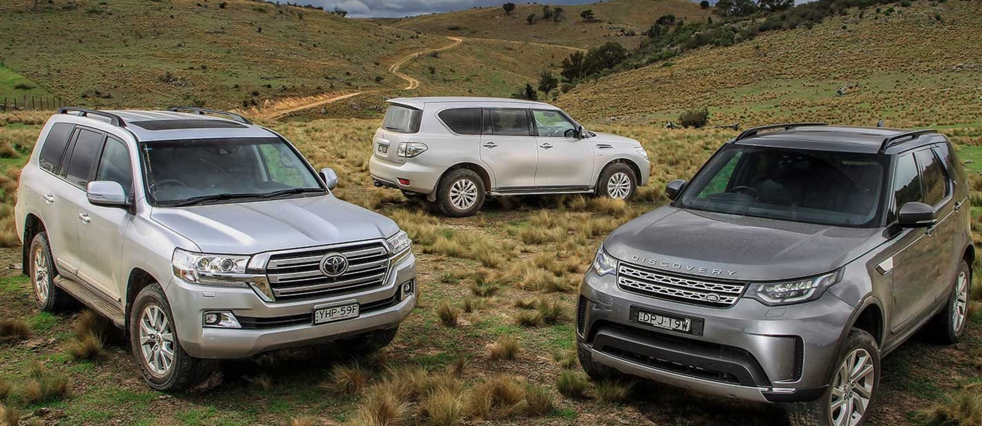 2018 Toyota Land Cruiser 200 vs Land Rover Discovery TD6 vs Nissan Y62 Patrol comparison review