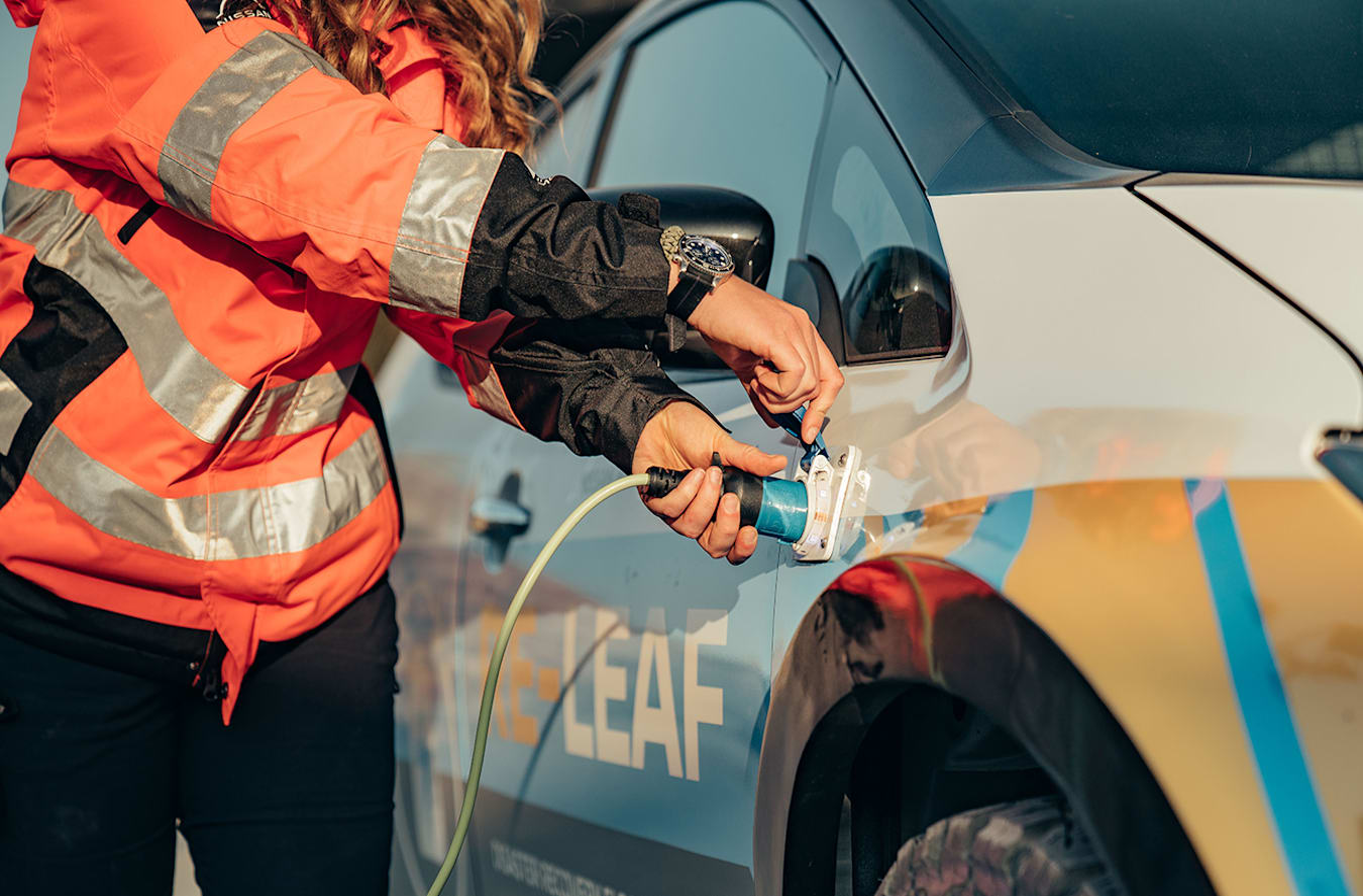 Nissan RE-LEAF power source