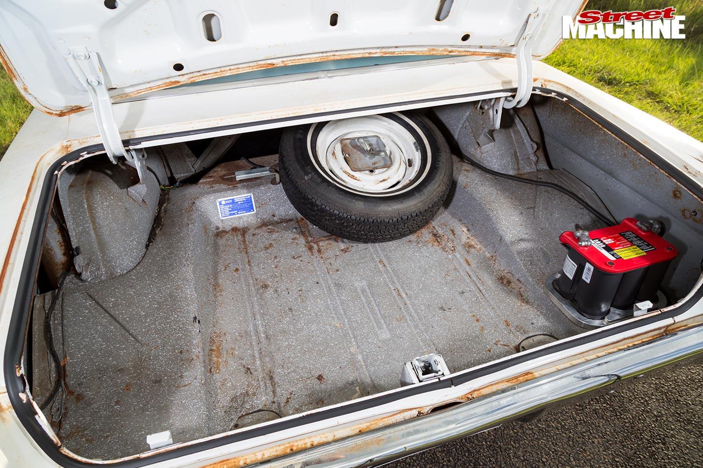 Chevy Nova boot