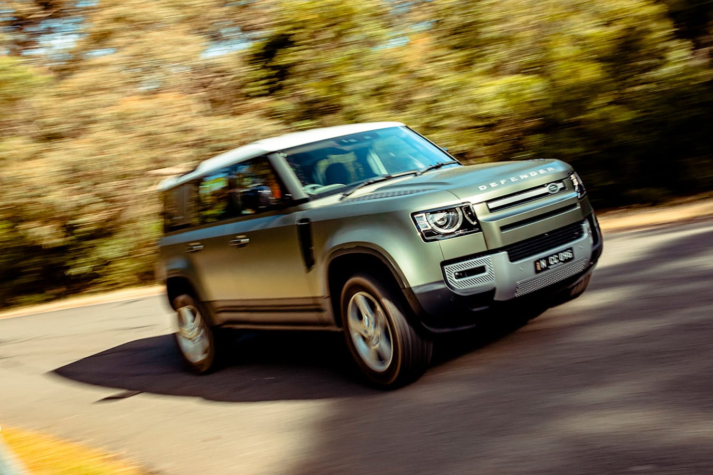 2021 Land Rover Defender 110 Drive Handling Jpg
