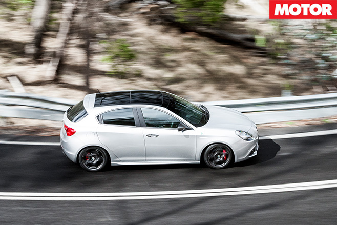 Alfa Giuletta QV rear