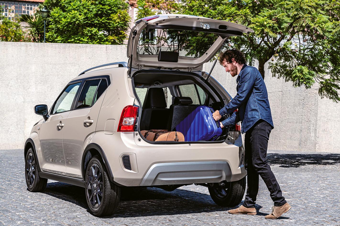 Suzuki Ignis boot pace