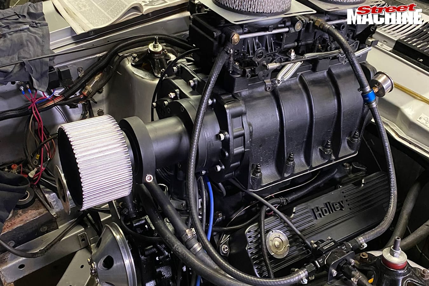 Ford XW Falcon engine bay