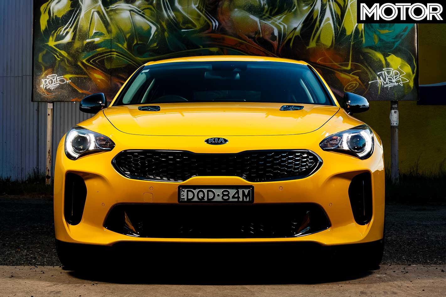 Sale Of Yellow Kia Stinger G Ts Headlights Jpg