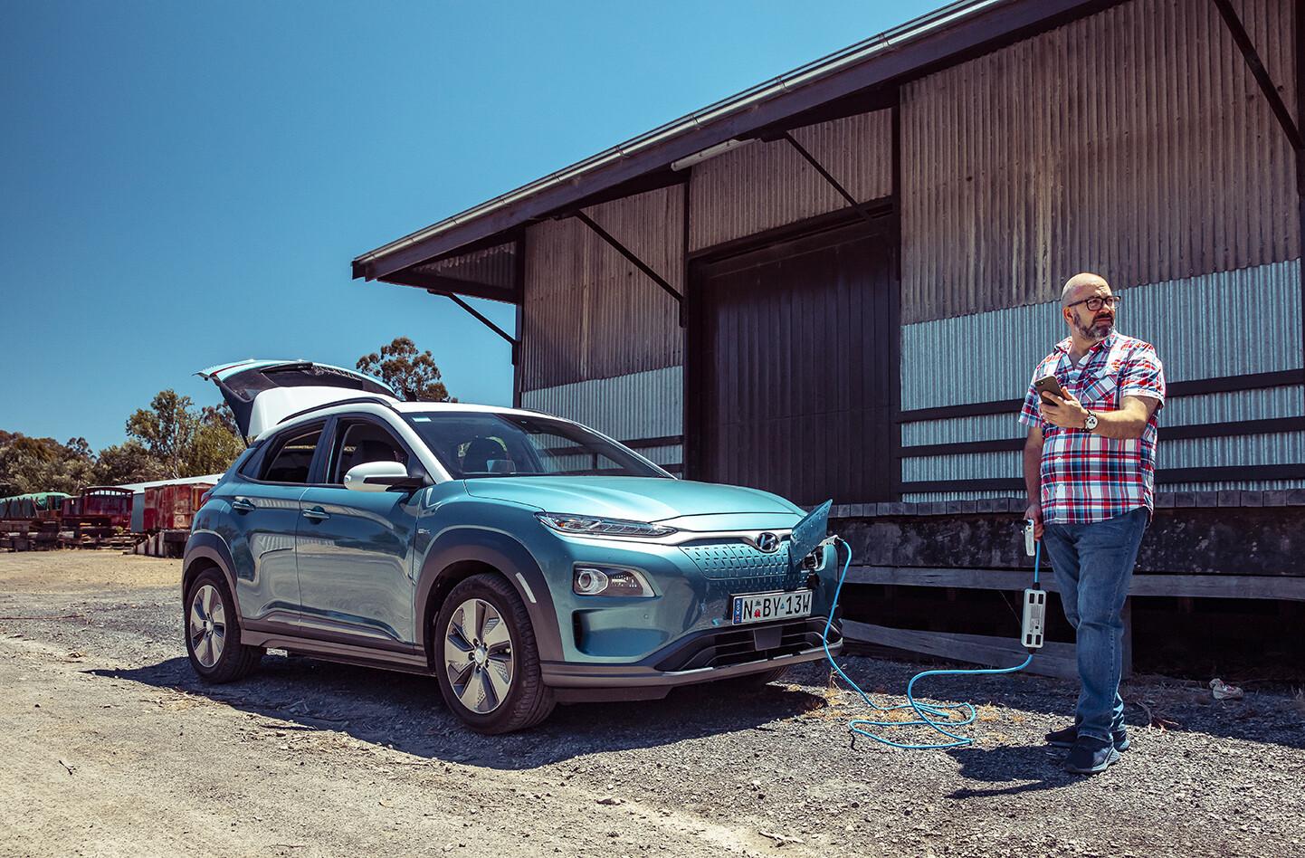 Hyundai Kona Electric David Bonnici