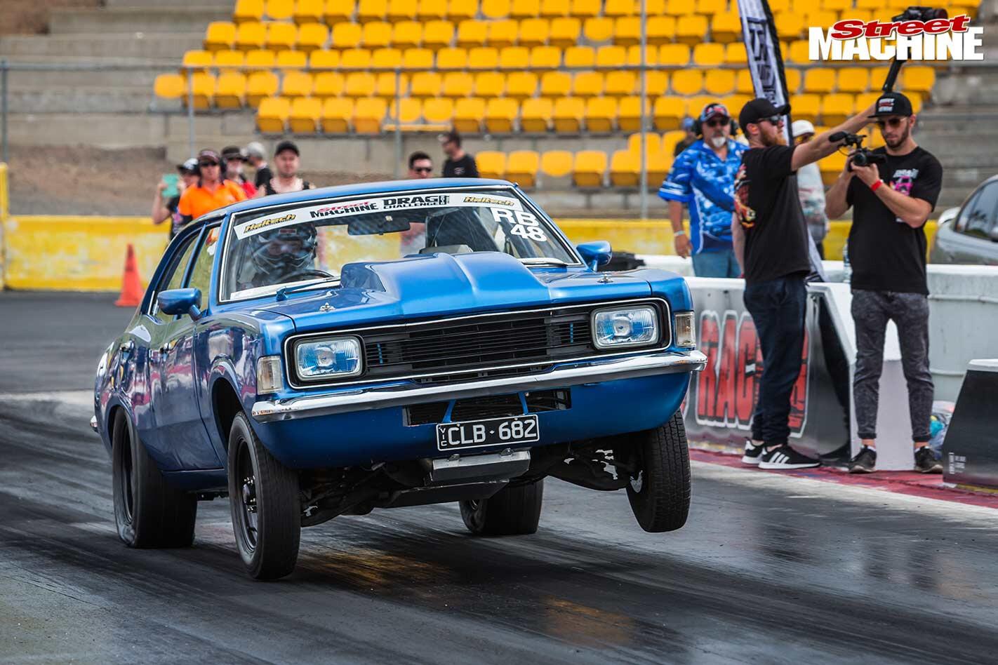 Ford Cortina at Drag Challenge