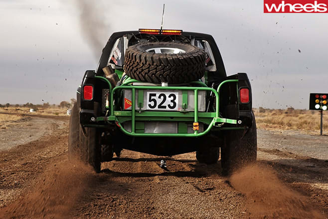 Ute -driving -rear