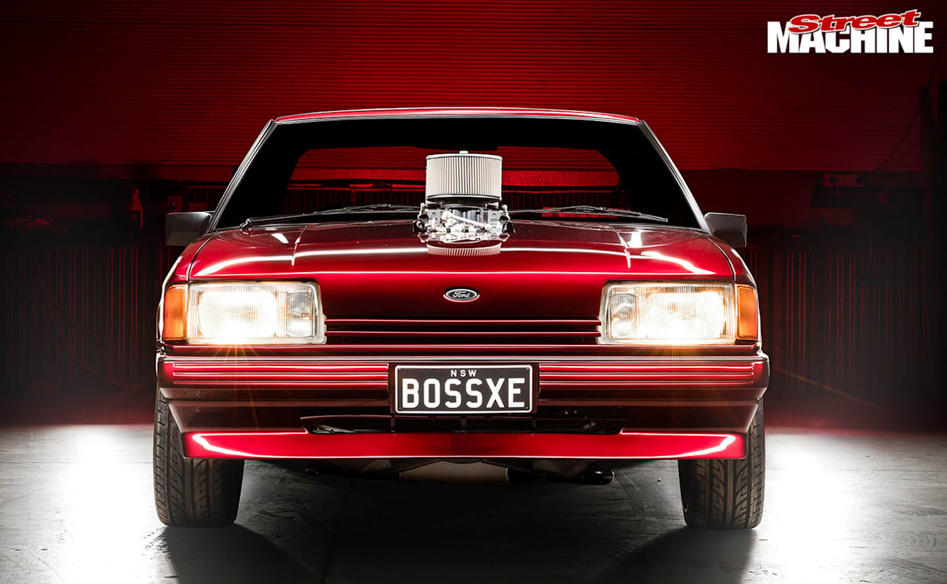 Ford XE Falcon front