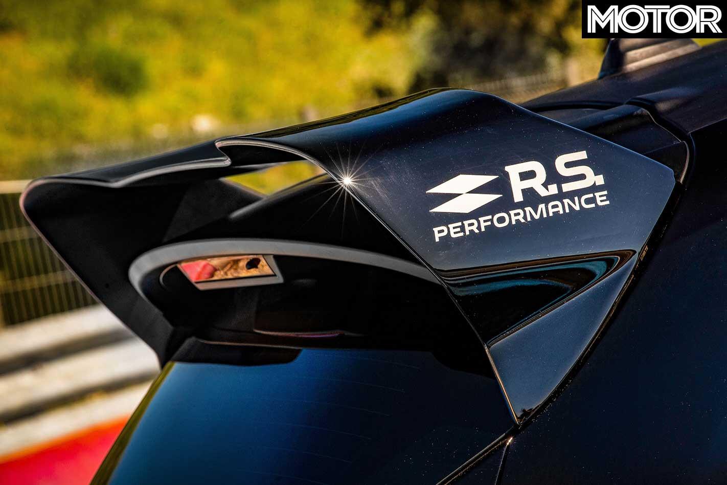 Renault Reveals RS Performance Parts Rear Spoiler Jpg