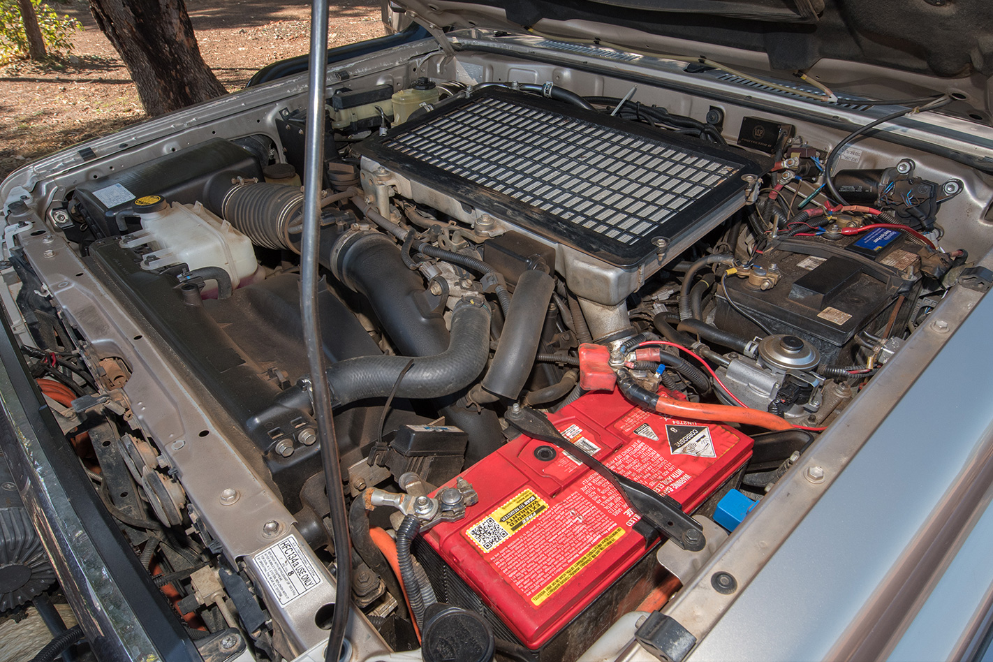 2008 Toyota Land Cruiser 76 GXL V8 engine