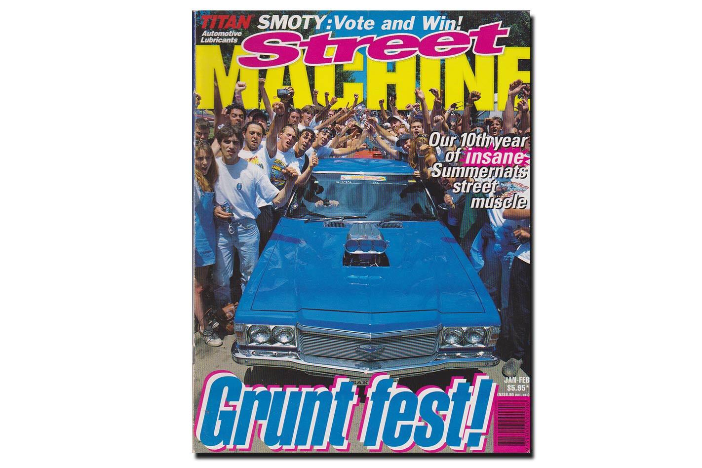 January February 1997 Street Machine cover