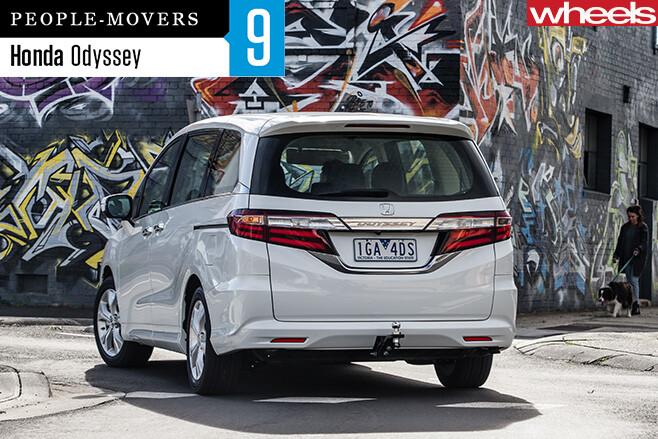 Honda -Odyssey -rear -side