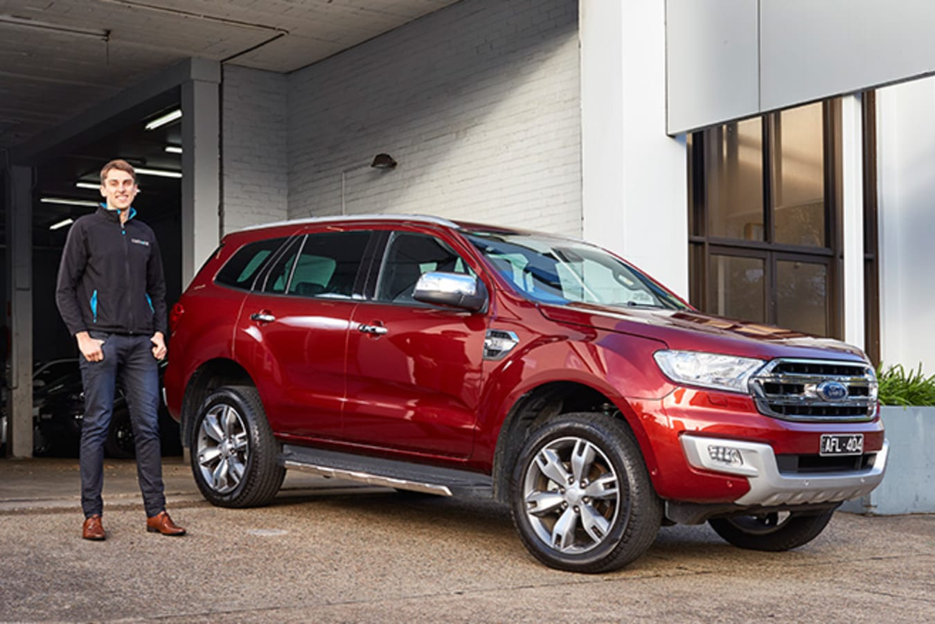 Ford Everest with Carhood