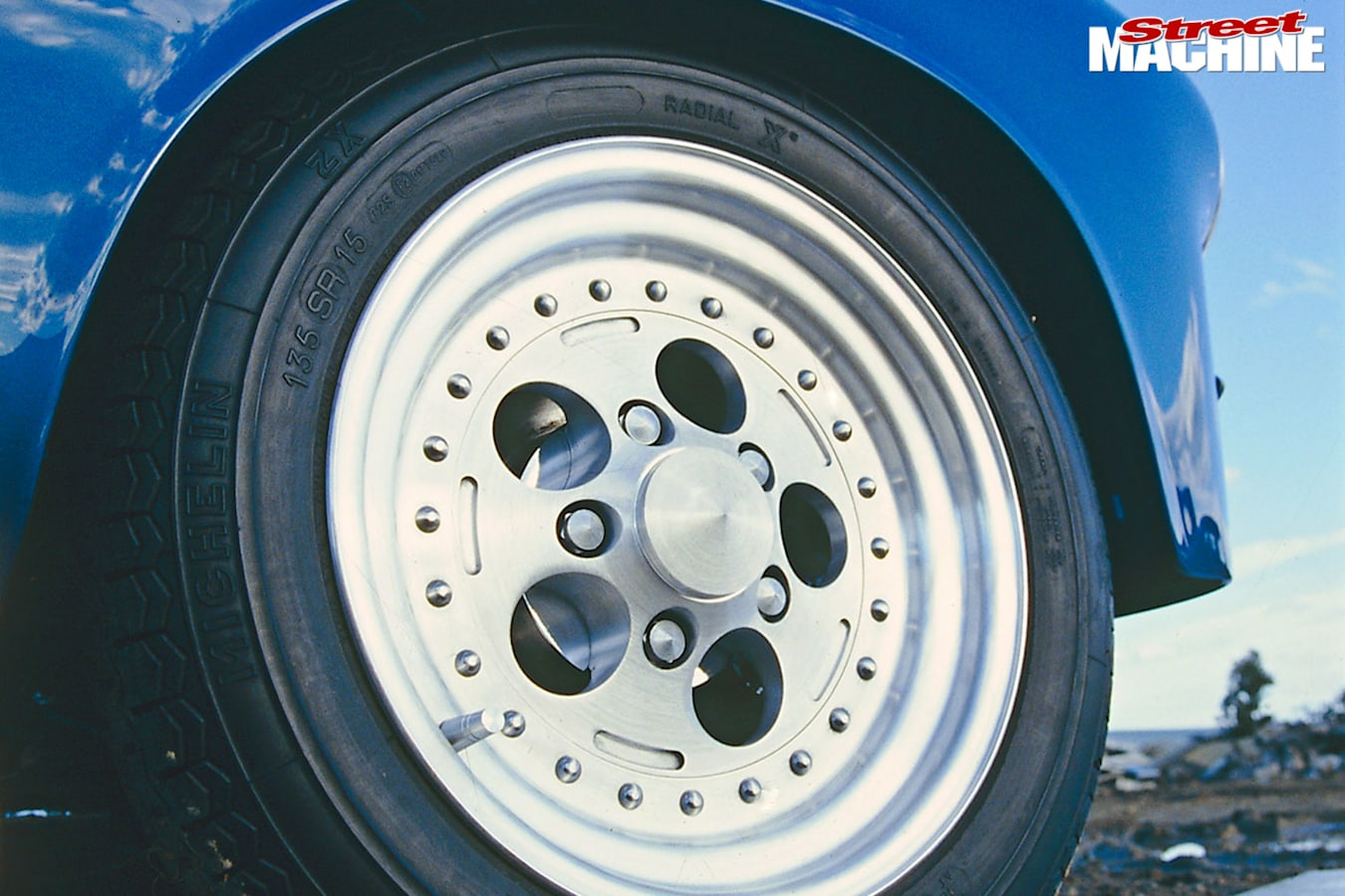Holden FJ wheel