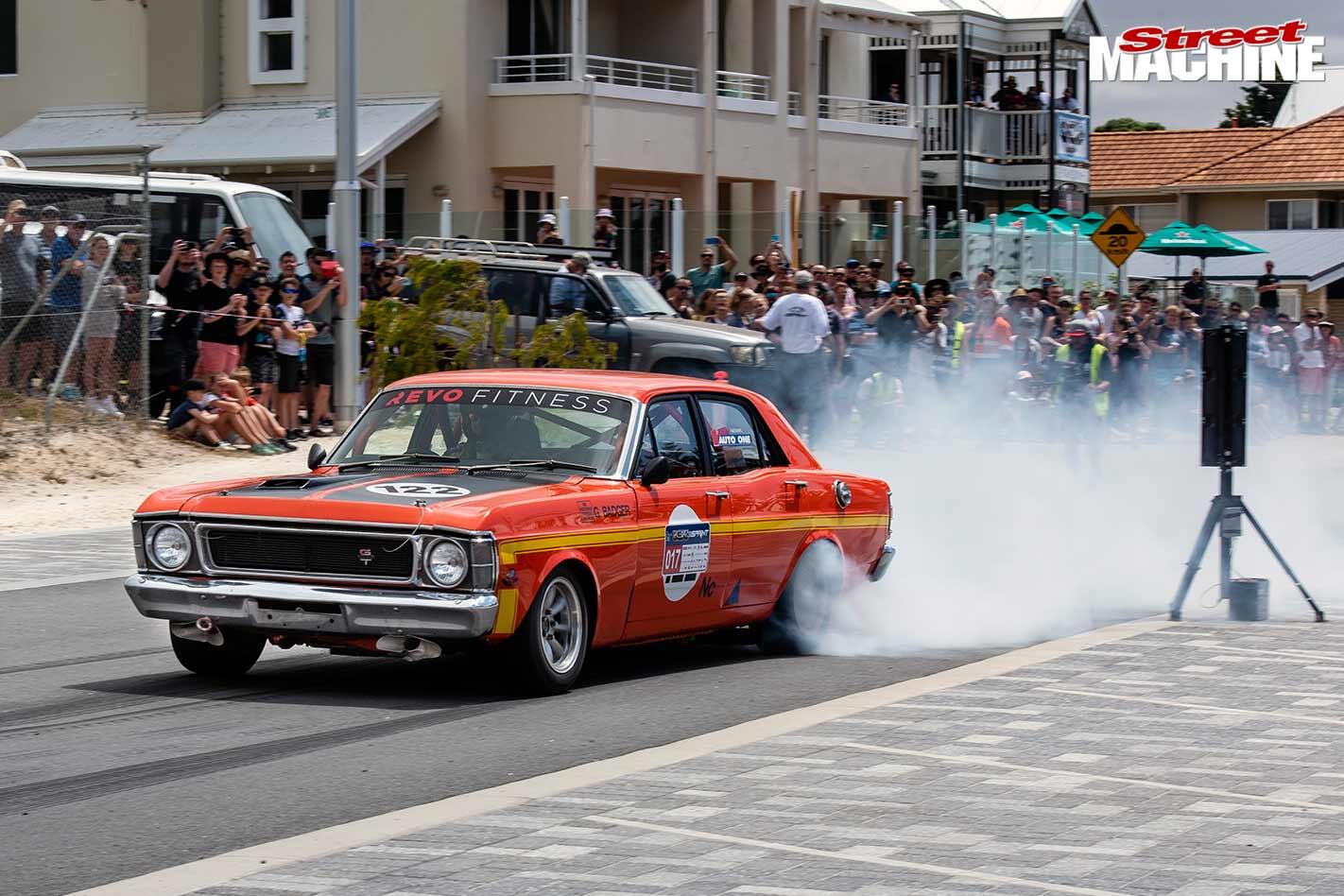 Falcon at Racewars