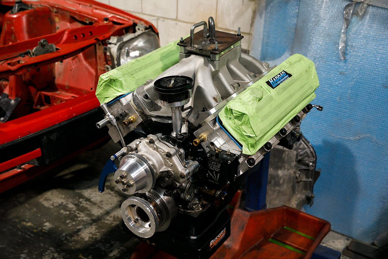 Ford ute engine