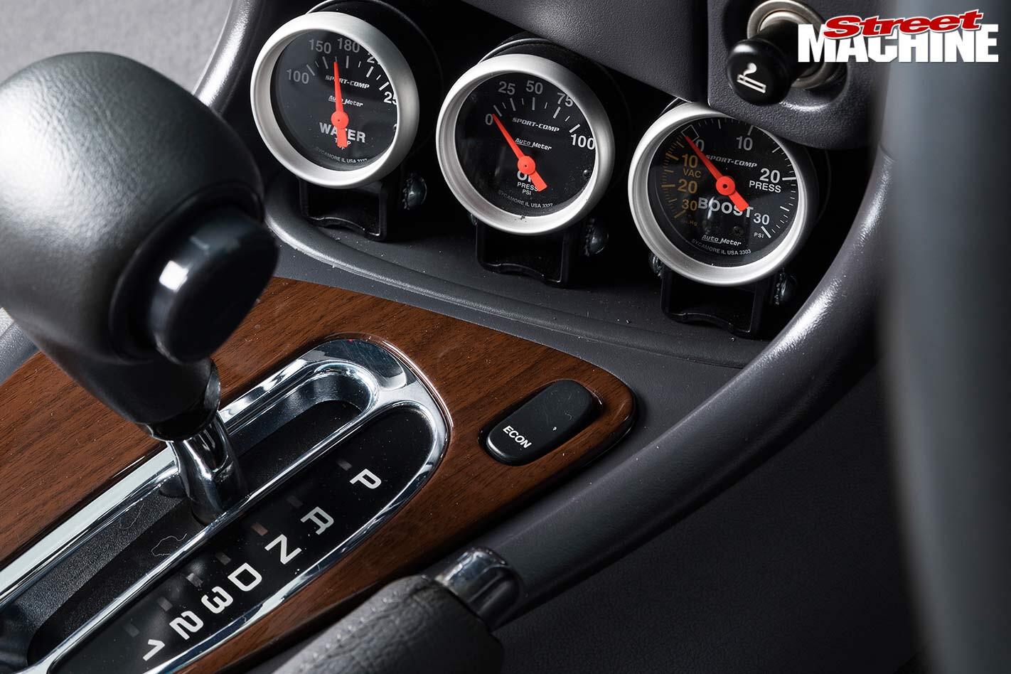 Ford EL Falcon gauges