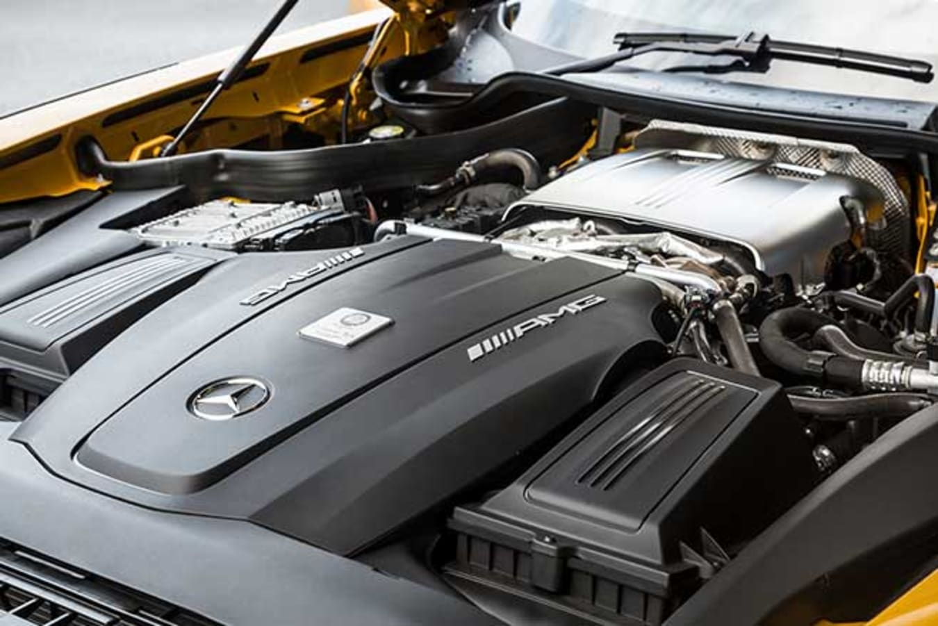 The 4.0-litre twin-turbo V8 produces 430kW and 700Nm.