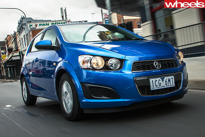 Holden -barina -front
