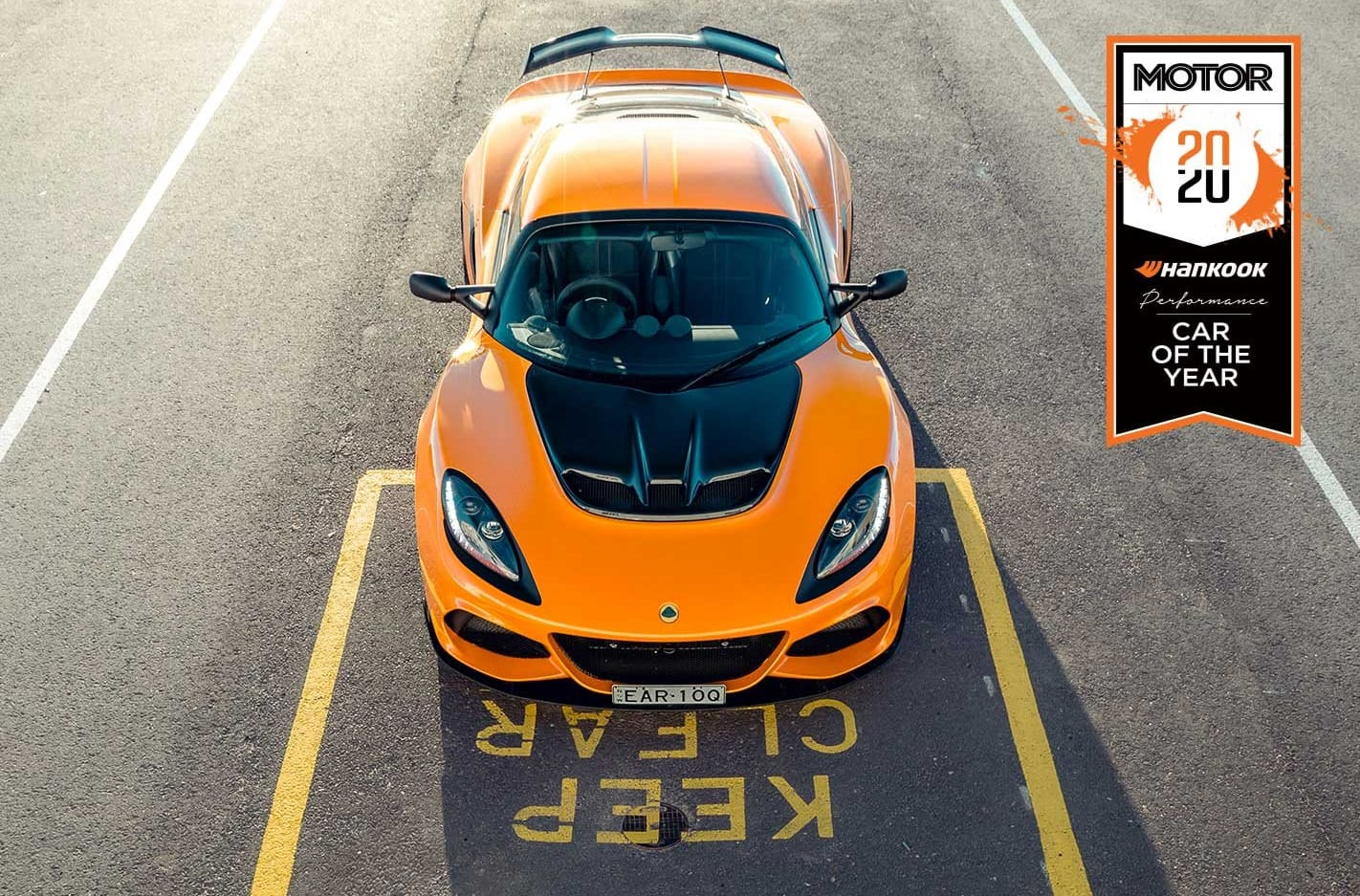 Lotus Exige Sport 410 Performance Car of the Year 2020 results