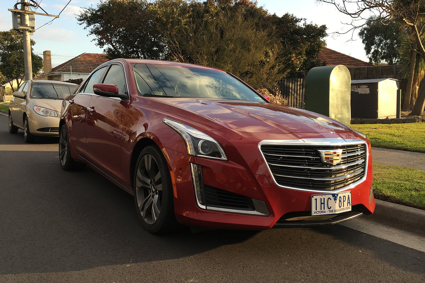 Cadillac CTS front side