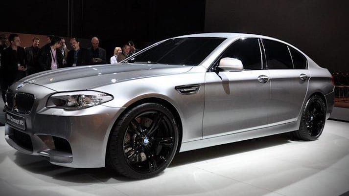 Leaked BMW concept M5