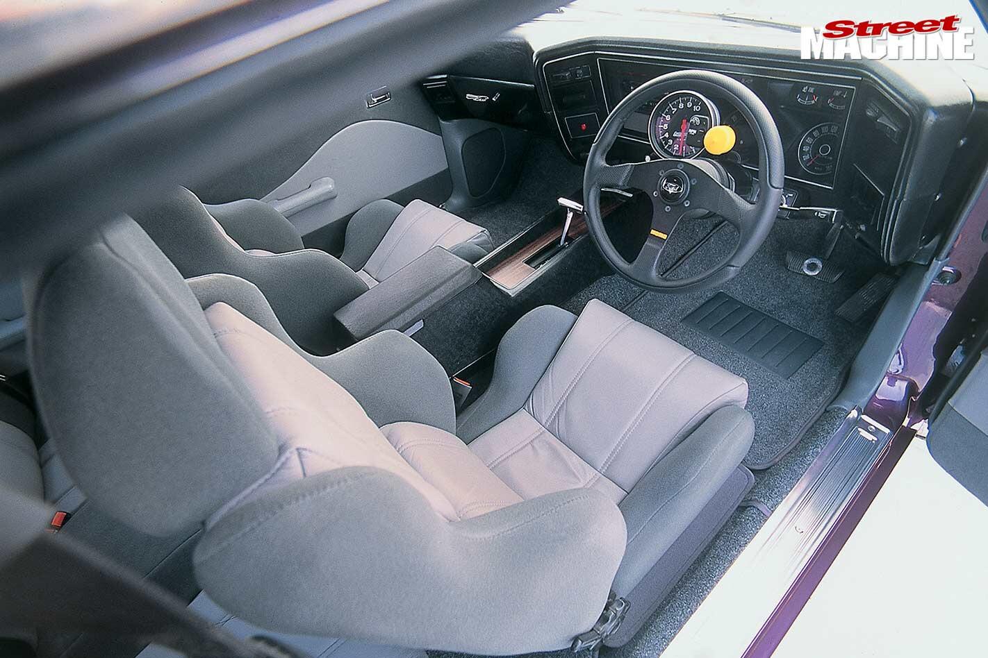 Ford Falcon XA interior