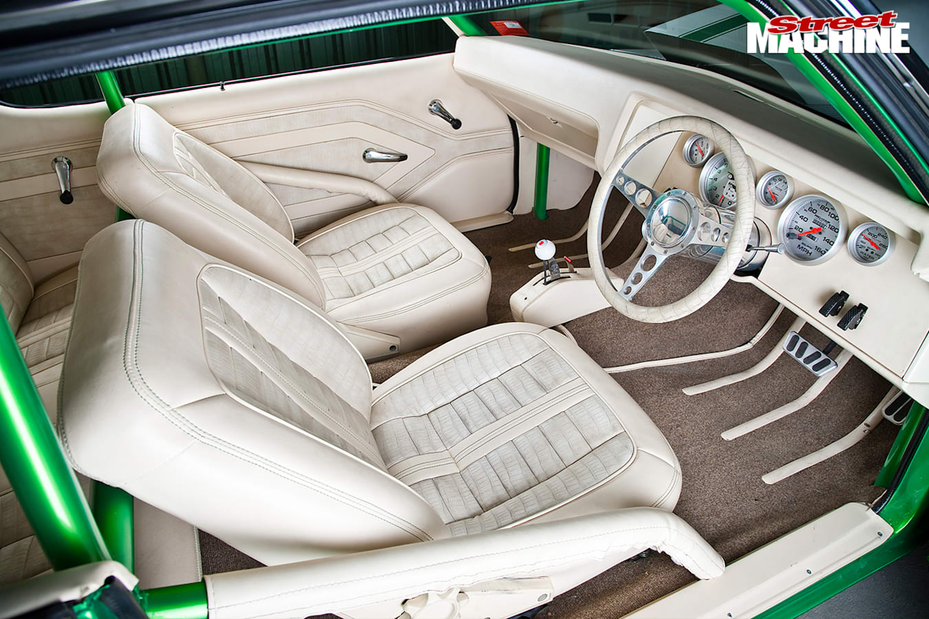 Holden -hq -interior -front