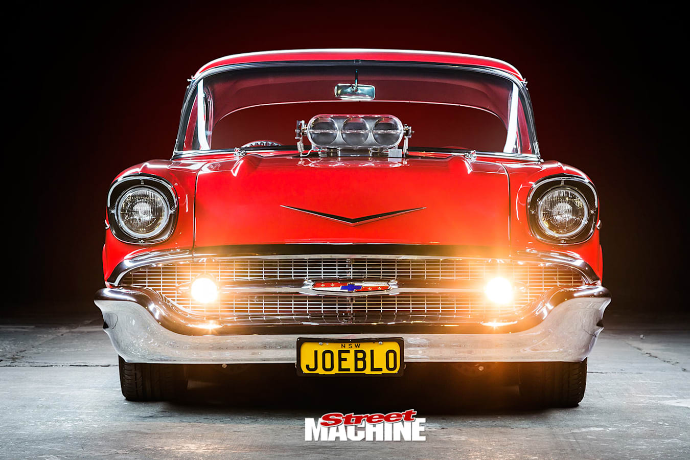 1957 Chev front