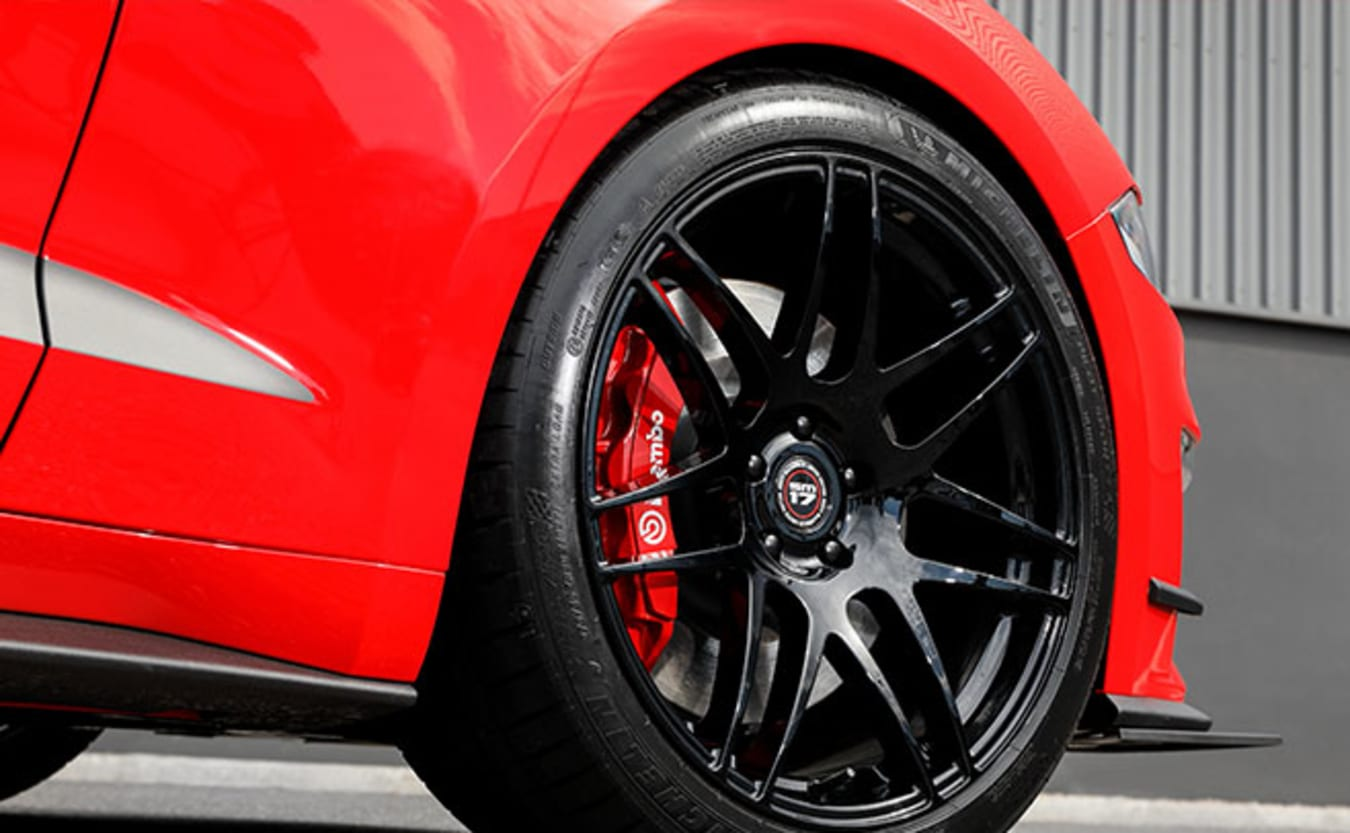 Scott McLaughlin Ford Mustang Herrod Performance wheel
