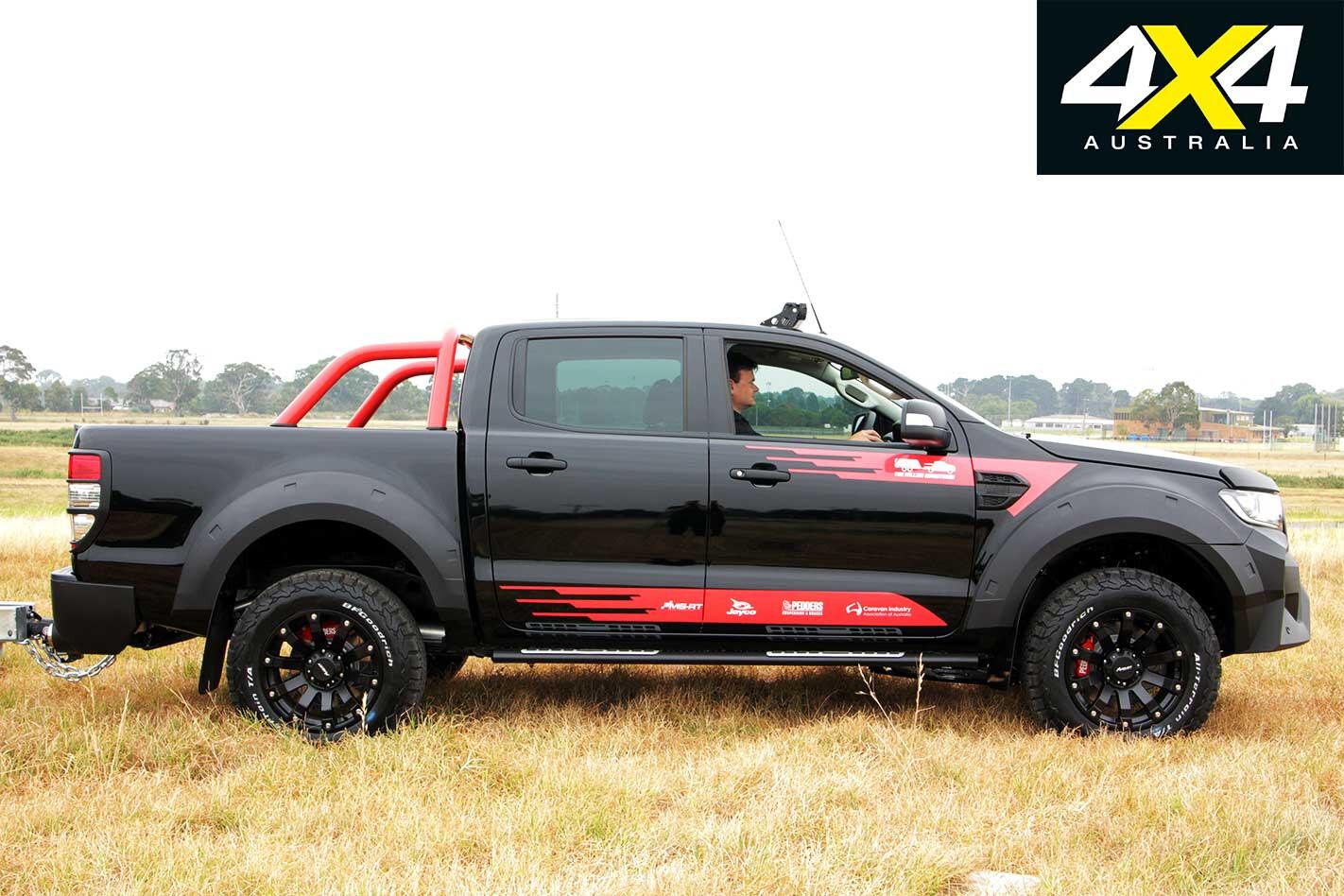 Pedders MS RT Ford Ranger Side Profile Jpg