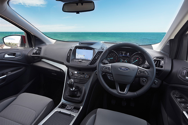 2017 Ford Escape interior