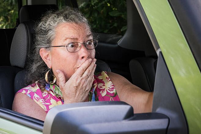 Elderly Womna Steering Wheel Jpg