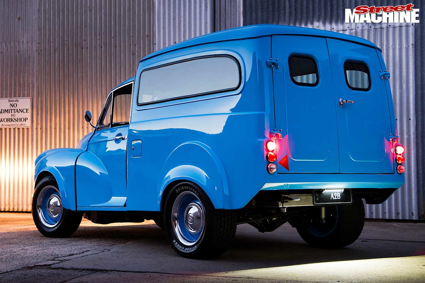 Morris van rear