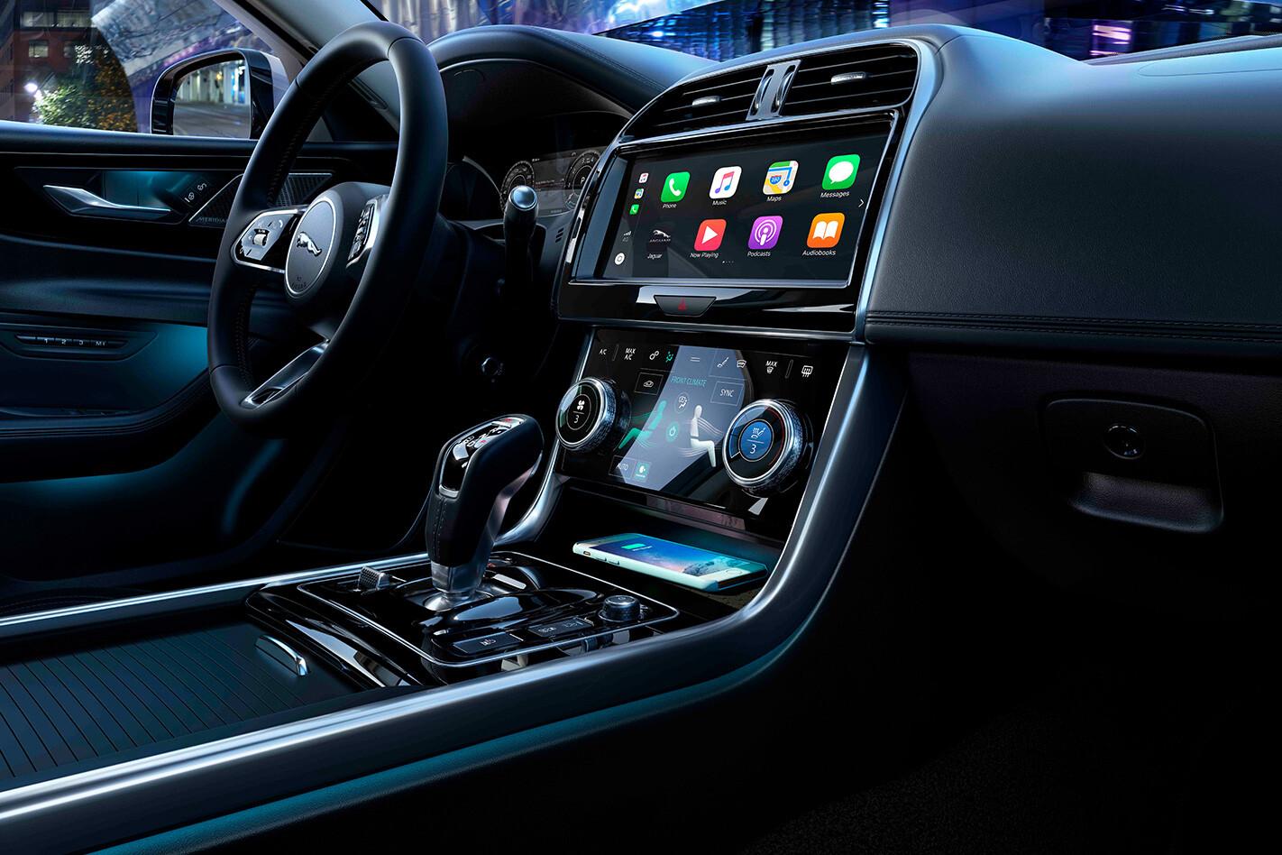 Jaguar Xe Console Jpg
