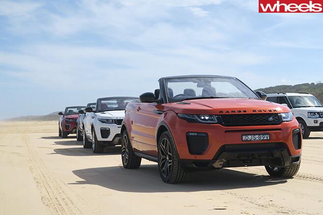 Range -Rover -Evoque -convertible