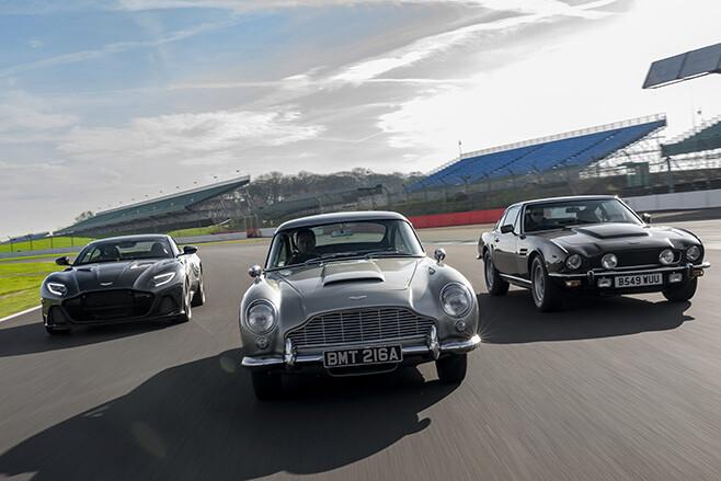 James Bond no time to die Aston Martins